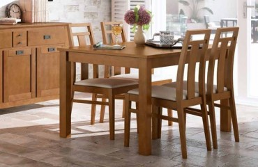 Mesas y sillas muebles lvarez for Muebles alvarez